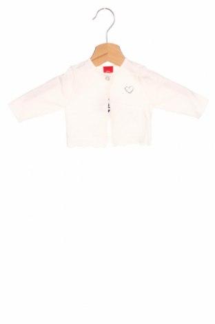 Pulover cu nasturi pentru copii S.Oliver, Mărime 2-3m/ 56-62 cm, Culoare Alb, Preț 120,89 Lei