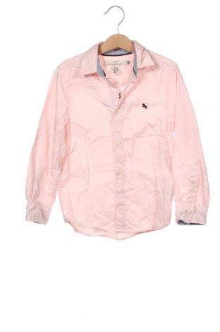 Dziecięca koszula H&M, Rozmiar 6-7y/ 122-128 cm, Kolor Różowy, Bawełna, Cena 57,60zł