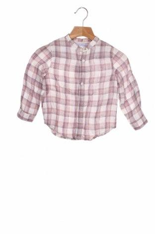Dziecięca koszula Zara, Rozmiar 18-24m/ 86-98 cm, Kolor Kolorowy, Len, Cena 51,75zł