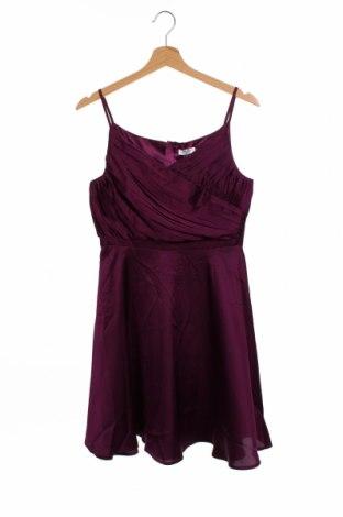 Dětské šaty  Chi Chi, Velikost 12-13y/ 158-164 cm, Barva Fialová, 97% polyester, 3% elastan, Cena  450,00Kč