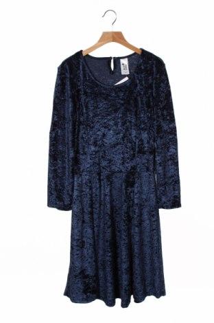 Детска рокля Here+There, Размер 15-18y/ 170-176 см, Цвят Син, 100% полиестер, Цена 18,90лв.