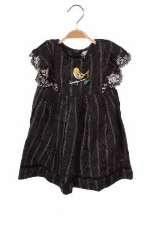 Детска рокля Orchestra, Размер 18-24m/ 86-98 см, Цвят Черен, 93% вискоза, 7% еластан, Цена 27,60лв.