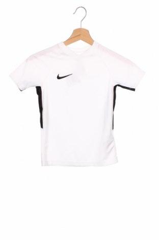 Детска тениска Nike, Размер 6-7y/ 122-128 см, Цвят Бял, Полиестер, Цена 29,25лв.