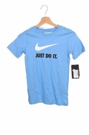 Tricou pentru copii Nike, Mărime 8-9y/ 134-140 cm, Culoare Albastru, Bumbac, Preț 96,22 Lei