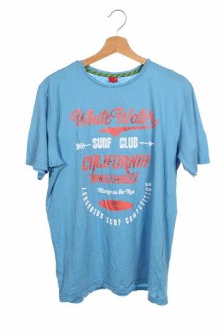 Dětské tričko  S.Oliver, Velikost 15-18y/ 170-176 cm, Barva Modrá, Bavlna, Cena  320,00Kč