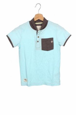 Dětské tričko  Tony Boy, Velikost 9-10y/ 140-146 cm, Barva Modrá, 60% bavlna, 40% polyester, Cena  264,00Kč