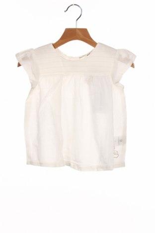 Tunică pentru copii Lulu Castagnette, Mărime 3-4y/ 104-110 cm, Culoare Alb, Bumbac, Preț 71,05 Lei