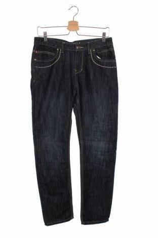 Dziecięce jeansy Campus, Rozmiar 12-13y/ 158-164 cm, Kolor Niebieski, 70% bawełna, 30% poliester, Cena 78,00zł