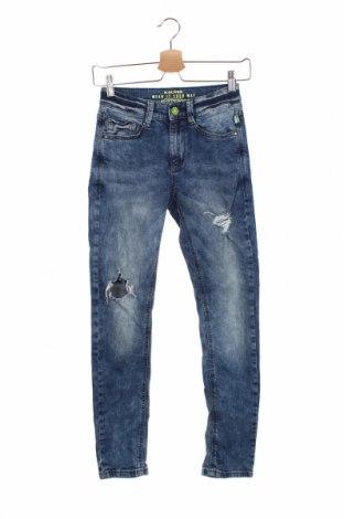 Dziecięce jeansy S.Oliver, Rozmiar 11-12y/ 152-158 cm, Kolor Niebieski, 99% bawełna, 1% elastyna, Cena 98,00zł