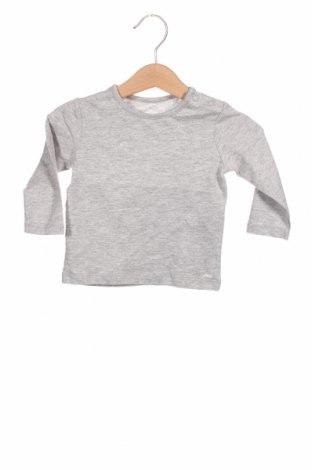Dziecięca bluzka S.Oliver, Rozmiar 6-9m/ 68-74 cm, Kolor Szary, 90% bawełna, 10% wiskoza, Cena 72,00zł