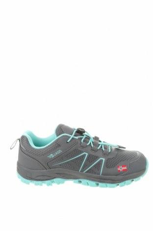Παιδικά παπούτσια Trollkids, Μέγεθος 37, Χρώμα Γκρί, Κλωστοϋφαντουργικά προϊόντα, δερματίνη, πολυουρεθάνης, Τιμή 18,32€