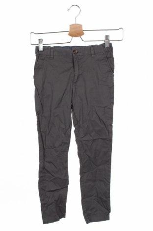 Dziecięce spodnie H&M, Rozmiar 6-7y/ 122-128 cm, Kolor Szary, Bawełna, Cena 52,80zł