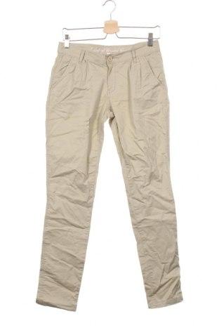 Pantaloni pentru copii H&M L.O.G.G., Mărime 14-15y/ 168-170 cm, Culoare Bej, 98% bumbac, 2% elastan, Preț 11,34 Lei