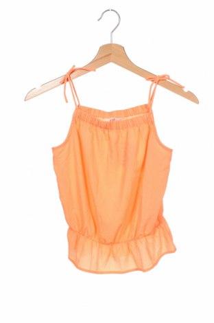Podkoszulek dziecięcy H&M, Rozmiar 10-11y/ 146-152 cm, Kolor Pomarańczowy, 97% poliester, 3% elastyna, Cena 47,25zł