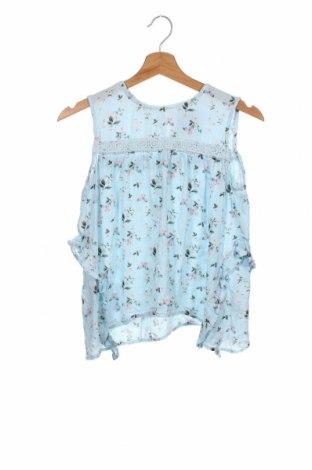 Podkoszulek dziecięcy H&M, Rozmiar 12-13y/ 158-164 cm, Kolor Niebieski, 100% wiskoza, Cena 56,25zł