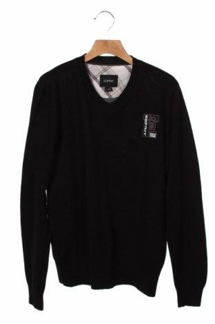 Dětský svetr  Esprit, Velikost 12-13y/ 158-164 cm, Barva Černá, 50% merino , 50%acryl, Cena  399,00Kč