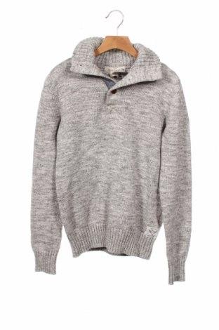 Dziecięcy sweter H&M L.O.G.G., Rozmiar 14-15y/ 168-170 cm, Kolor Szary, Bawełna, Cena 58,50zł