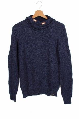 Dziecięcy sweter H&M L.O.G.G., Rozmiar 15-18y/ 170-176 cm, Kolor Niebieski, Bawełna, Cena 72,00zł
