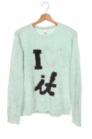 Детски пуловер Here+There, Размер 15-18y/ 170-176 см, Цвят Зелен, Цена 22,05лв.