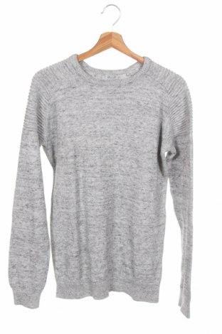 Детски пуловер Here+There, Размер 15-18y/ 170-176 см, Цвят Сив, Памук, Цена 20,95лв.