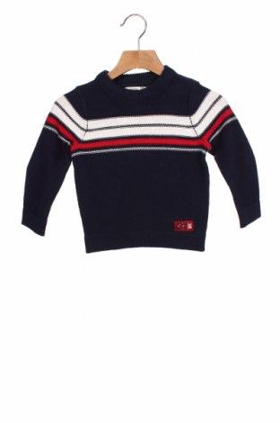 Детски пуловер Orchestra, Размер 18-24m/ 86-98 см, Цвят Син, Памук, Цена 28,60лв.