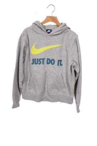 Dziecięca bluza Nike, Rozmiar 9-10y/ 140-146 cm, Kolor Szary, 76% bawełna, 24% poliester, Cena 63,00zł