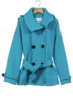 Palton pentru copii Bpc Bonprix Collection, Mărime 11-12y/ 152-158 cm, Culoare Albastru, 88% poliester, 10% viscoză, 2% elastan, Preț 46,42 Lei