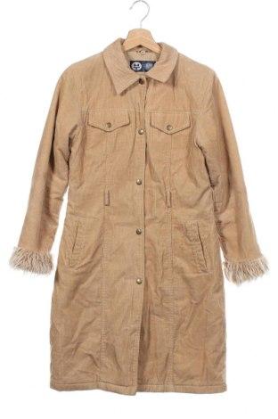 Παιδικό παλτό Here+There, Μέγεθος 11-12y/ 152-158 εκ., Χρώμα  Μπέζ, 100% βαμβάκι, Τιμή 21,53€