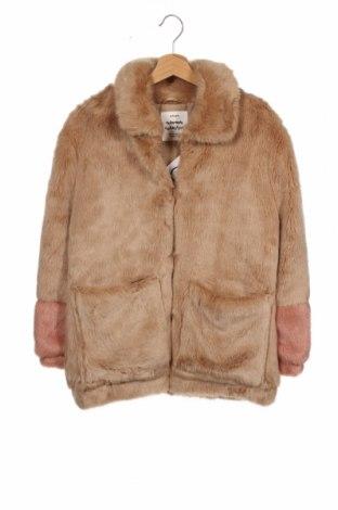 Dětský kabát  Zara, Velikost 13-14y/ 164-168 cm, Barva Béžová, Cena  765,00Kč