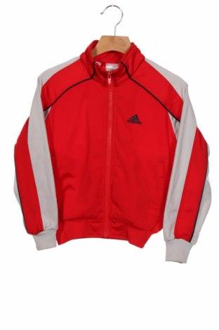 Dziecięca sportowa bluza Adidas, Rozmiar 5-6y/ 116-122 cm, Kolor Czerwony, Poliester, Cena 76,80zł