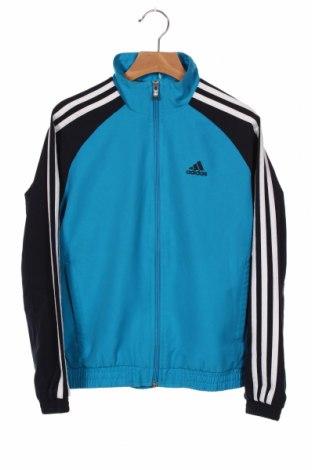 Dziecięca sportowa bluza Adidas, Rozmiar 9-10y/ 140-146 cm, Kolor Niebieski, Poliester, Cena 86,40zł