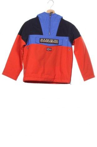 Детско яке Napapijri, Размер 7-8y/ 128-134 см, Цвят Многоцветен, Полиамид, Цена 115,67лв.