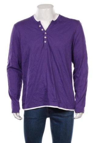 Bluză de bărbați John Devin, Mărime L, Culoare Mov, 95% bumbac, 5% elastan, Preț 50,73 Lei