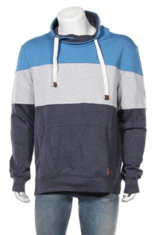 Мъжка блуза Tom Tailor, Размер XL, Цвят Син, 60% памук, 40% полиестер, Цена 41,30лв.