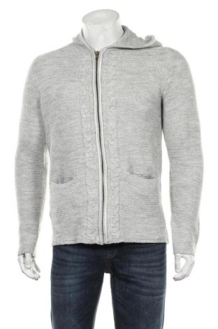 Jachetă tricotată de bărbați Livergy, Mărime M, Culoare Gri, Preț 86,21 Lei