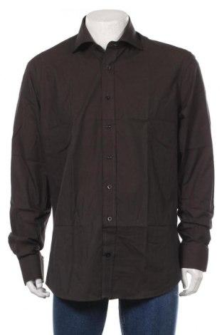 Мъжка риза Alain Manoukian, Размер XL, Цвят Черен, 100% памук, Цена 26,88лв.