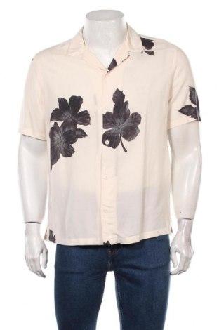Мъжка риза AllSaints, Размер S, Цвят Многоцветен, Вискоза, Цена 65,40лв.