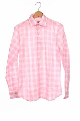 Мъжка риза Arrow, Размер M, Цвят Розов, Памук, Цена 35,10лв.