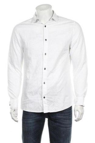 Męska koszula H&M, Rozmiar M, Kolor Biały, Bawełna, Cena 57,60zł