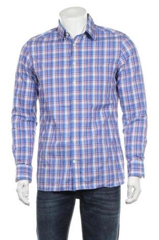 Мъжка риза Hackett, Размер M, Цвят Многоцветен, Памук, Цена 32,20лв.