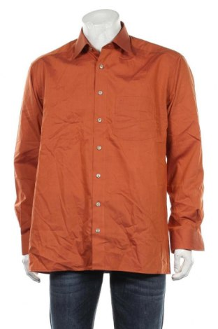 Мъжка риза Olymp, Размер L, Цвят Оранжев, Памук, Цена 18,95лв.