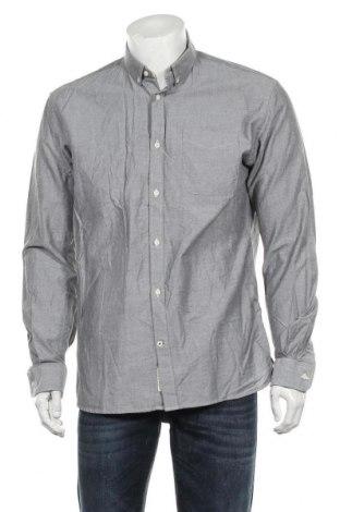 Męska koszula Premium By Jack & Jones, Rozmiar L, Kolor Szary, Bawełna, Cena 91,20zł