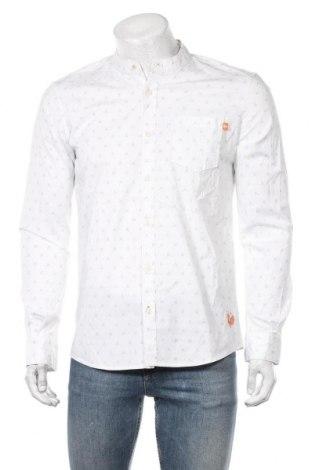 Męska koszula Tom Tailor, Rozmiar M, Kolor Biały, 98% bawełna, 2% elastyna, Cena 105,00zł