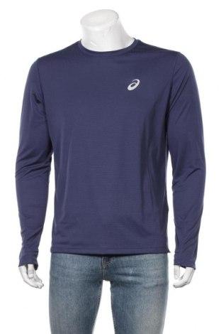 Мъжка спортна блуза ASICS, Размер M, Цвят Син, Полиестер, Цена 44,85лв.