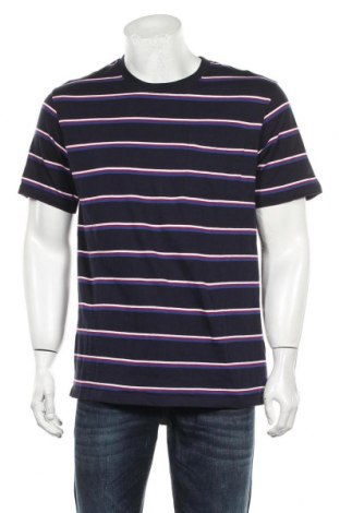 Мъжка тениска H&M L.O.G.G., Размер M, Цвят Син, Памук, Цена 16,50лв.