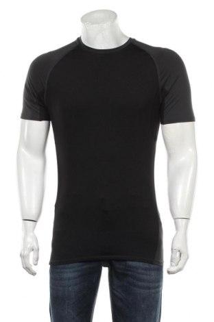 Мъжка тениска H&M Sport, Размер M, Цвят Сив, Цена 15,40лв.