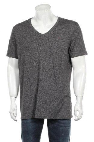 Мъжка тениска Hilfiger Denim, Размер XXL, Цвят Сив, Цена 31,50лв.
