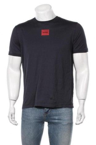 Мъжка тениска Hugo Boss, Размер M, Цвят Син, Памук, Цена 87,45лв.
