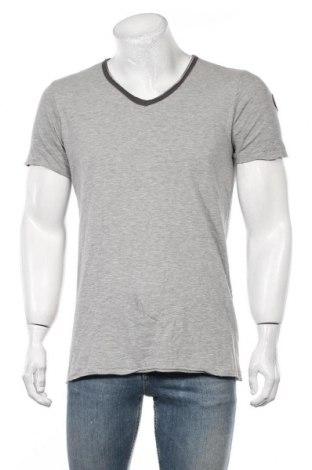 Мъжка тениска Le Temps Des Cerises, Размер M, Цвят Сив, 88% памук, 12% полиестер, Цена 20,88лв.