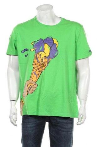 Męski T-shirt PUMA, Rozmiar XL, Kolor Zielony, Cena 76,80zł